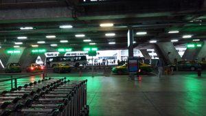 タイ空港タクシー乗り場1