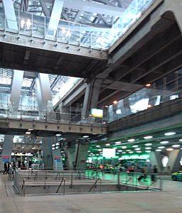 タイ空港タクシー乗り場2