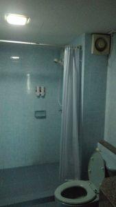 泊まったホテルのバストイレルーム