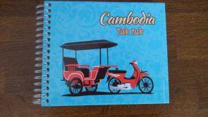 カンボジアのお土産 トゥクトゥクノート1