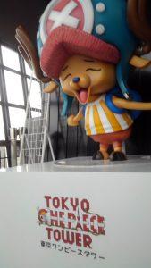 東京タワーにワンピースのチョッパー