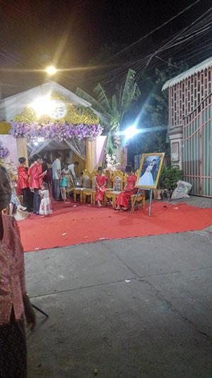 カンボジア 結婚式 披露宴 式場