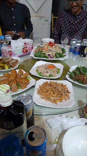 カンボジア 披露宴 料理