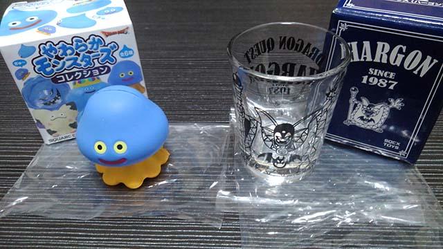 ドラクエ やわらかモンスターズ ホイミスライム ふくびき所スペシャル ハーゴン ショットグラス