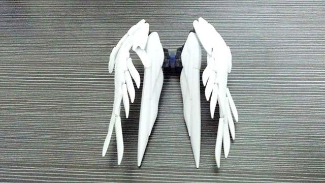 ガンプラ RG ウイングガンダムゼロ EW 翼部分