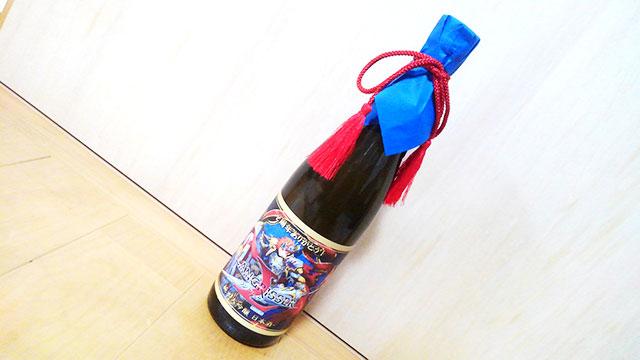 ランモバ コラボ日本酒 一升瓶